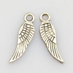 Wing Charm - Silver Plated - Riverside Beads