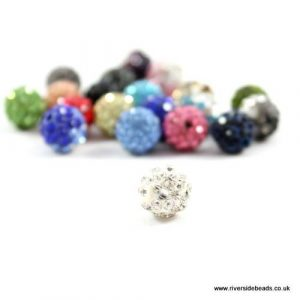 Clear Crystal Clay Beads - Riverside Beads