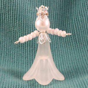 Snow Princess Beaded Charms-riverside beads