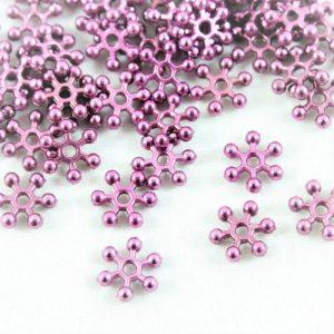 Aubergine Sparkle Spacer Bead - Riverside Beads