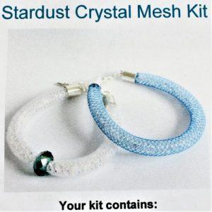 Mesh Bracelet Kit - Teal-riverside beads