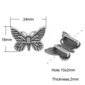 Butterfly Slide Charms - Riverside Beads