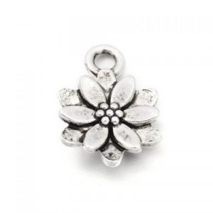 Twelve Petal Flower Charm - Riverside Beads