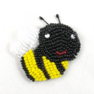 Bead Embroidery Bee Kit-Riverside Beads