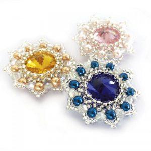 Birthstone Rivoli Collection 4 - Riverside Beads