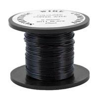 Copper Craft Wire - Black - Riverside Beads