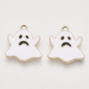 Ghost Charms - White - Charms - Riverside Beads
