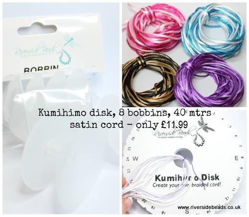 Starter Kumihimo Braided Kit - Riverside Beads