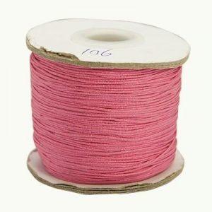 Macrame Cord - Pink - Riverside Beads