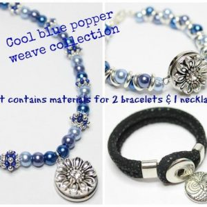 Popper Weave Sparkle Spacer-riverside beads