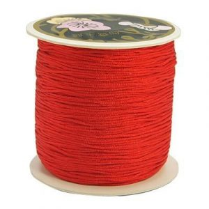 Macrame Cord - Red - Riverside Beads