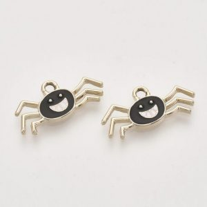 Spider Charms - Black - Charms - Riverside Beads