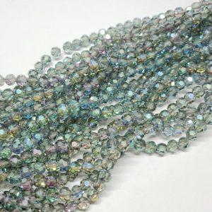 6mm Round Crystal Blue - Shop Riverside Beads