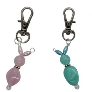 Beaded Rabbit Charm Kit - Riverside Beads