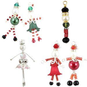 Christmas Beaded Charm Collection - Riverside Beads