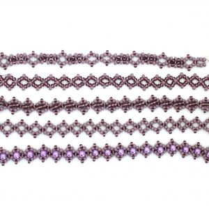 Purple Bracelet Beading Kit - Riverside Beads