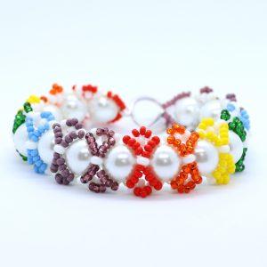 Rainbows Bracelet Making Kit - Riverside Beads