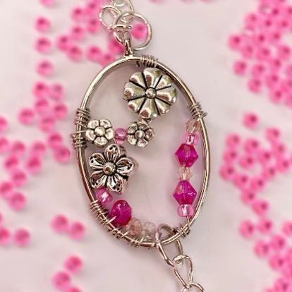 Pink Beaded Suncatcher Kit - Riverside Beads
