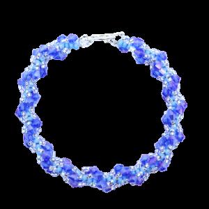 Blue Spiral Bracelet Kit - Riverside Beads