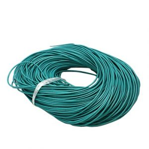 Leather Cord - Turquoise - 1mm - Riverside Beads