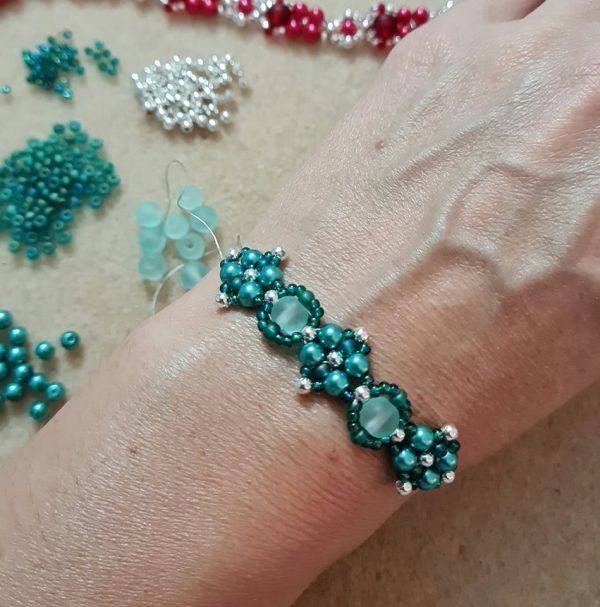 Bead Weaving Bracelet Workshop - Riverside Beads