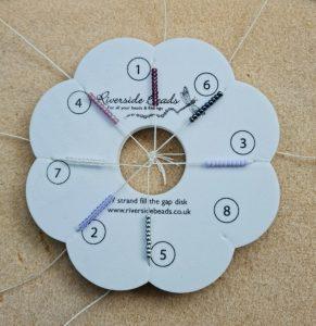 7 Strand Braiding Disk - Riverside Beads