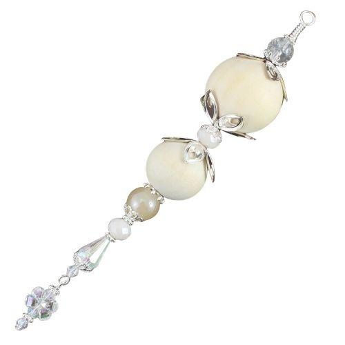 Beaded Icicle Christmas Decoration - Riverside Beads