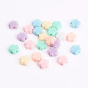 Pastel Acrylic Flowers - Riverside Beads