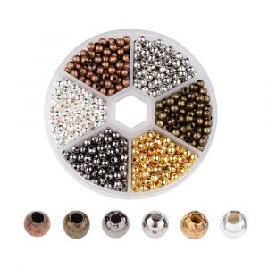 4mm Mixed Spacer Bead Collection - Riverside Beads