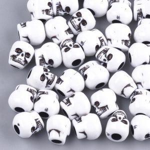 Acrylic Skull Bead - Riverside Beads