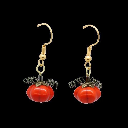 Pumpkin Earring Charm Kit - Riverside Beads