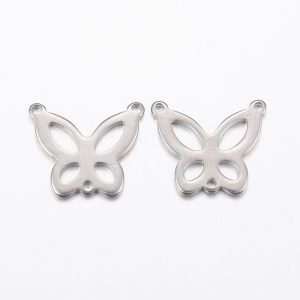 Butterfly Connector Link - Riverside Beads