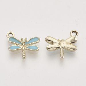 Enamel Dragonfly Charms - Riverside Beads