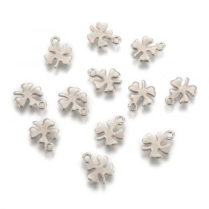 Four Leaf Clover Charms - Riverside Beads