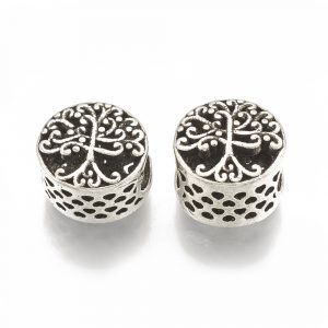 Large Hole Spacer Bead - Tree Of Life - Riverside Beads
