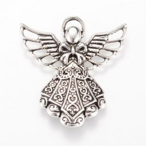 Large Silver Angel Charms - Riverside Beads