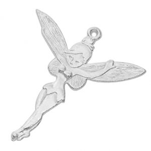 Large Silver Fairy Charms - Riverside Beads