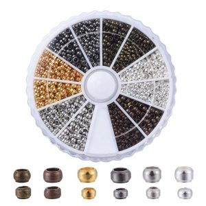 Mixed Crimp Bead Collection - Riverside Beads