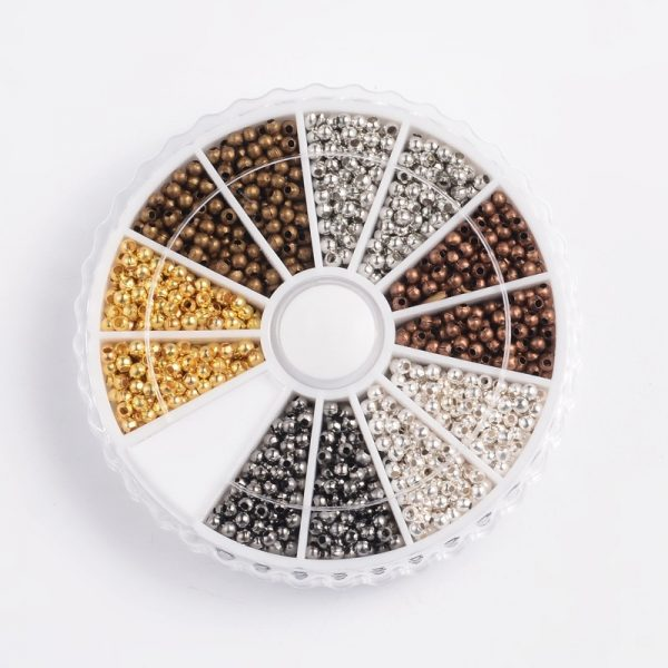 3mm Mixed Spacer Bead Collection - Riverside Beads