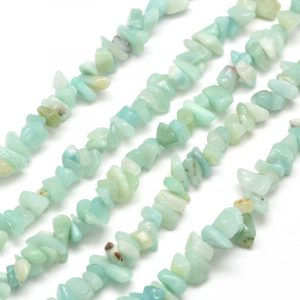 Semi Precious Chips - Amazonite - Riverside Beads