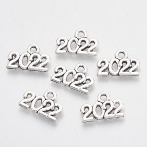 Silver 2022 Charms - Riverside Beads