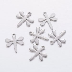 Silver Dragonfly Charms - Riverside Beads