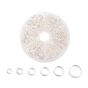 Silver Jump Ring Collection - Riverside Beads