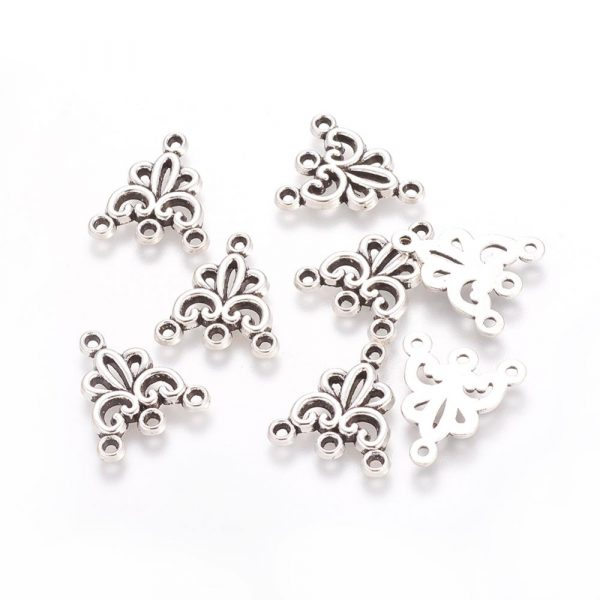 Silver Multistrand Connectors - Riverside Beads