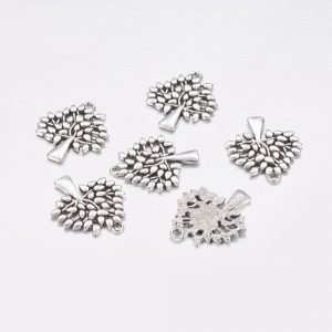 Silver Tree 1 Charms - Riverside Beads