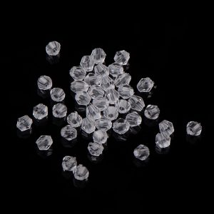 Acrylic Faceted Bicone Bead - Riverside Beads