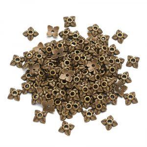 Small Bead Cap Bronze - Riverside beads